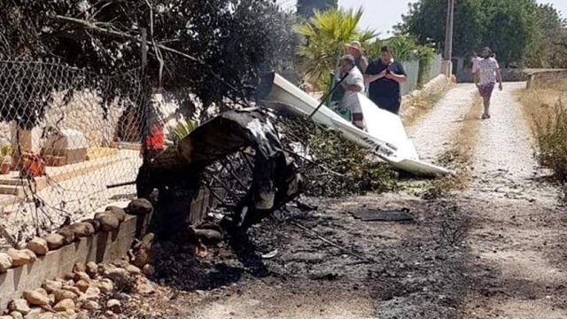 Zderzenie helikoptera z małym samolotem na Majorce. Nikt nie przeżył katastrofy