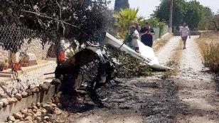 Zderzenie helikoptera z małym samolotem. Nikt nie przeżył