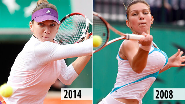 Dla tenisa zmniejszyła piersi. Oto metamorfoza Simony Halep, finalistki Roland Garros