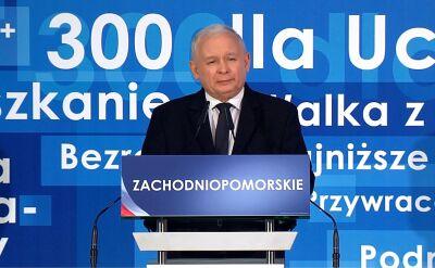Kaczyński: dobrze, że współpracujemy z Niemcami, ale historia się nie skończyła