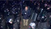 Reporter TVN24 o nocnym szturmie
