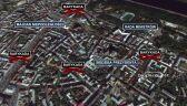 Mapa protestów w Kijowie