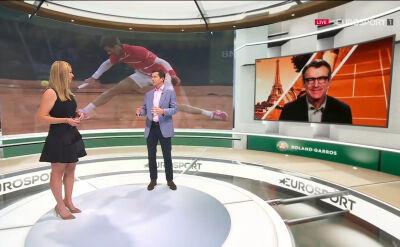 Analiza finału singlistów Roland Garros 2020 w studiu Eurosport Cube