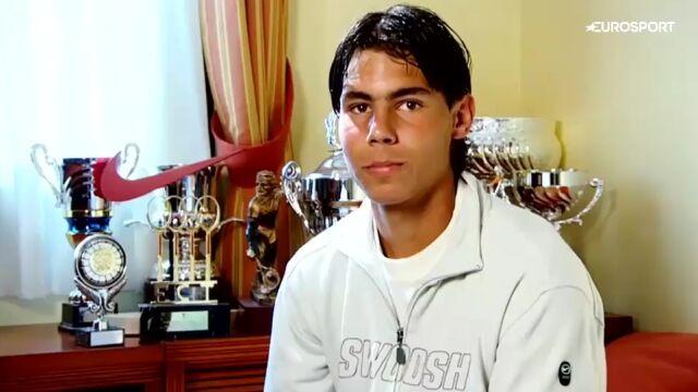 """Wyjątkowa wizyta u 16-letniego Nadala. """"Chciałbym zostać wielkim tenisistą"""""""