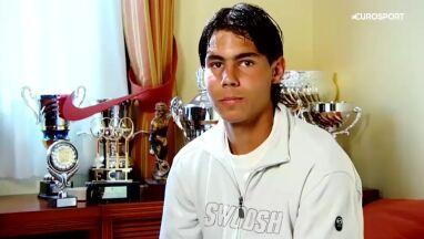 Wyjątkowa wizyta u 16-letniego Nadala.