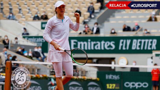 Iga Świątek - Nadia Podoroska w półfinale French Open [RELACJA]