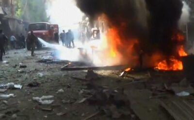 Nalot bombowy w Syrii. Nie żyje ponad 20 osób