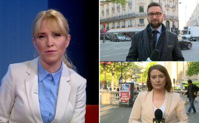 Korespondenci TVN24 o francuskich wyborach