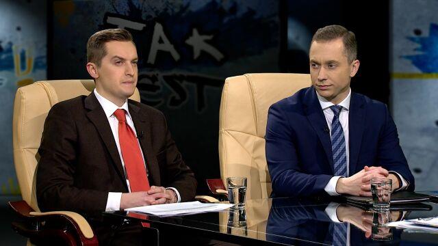 Sebastian Kaleta i Cezary Tomczyk w Tak Jest