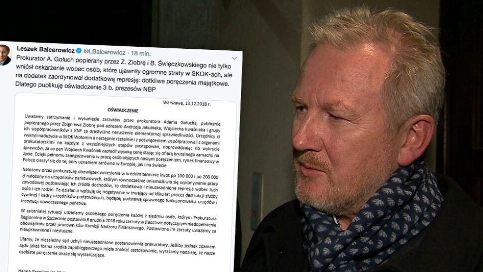 """""""Dodatkowa i nieuzasadniona represja"""". Byli prezesi NBP zabrali głos"""