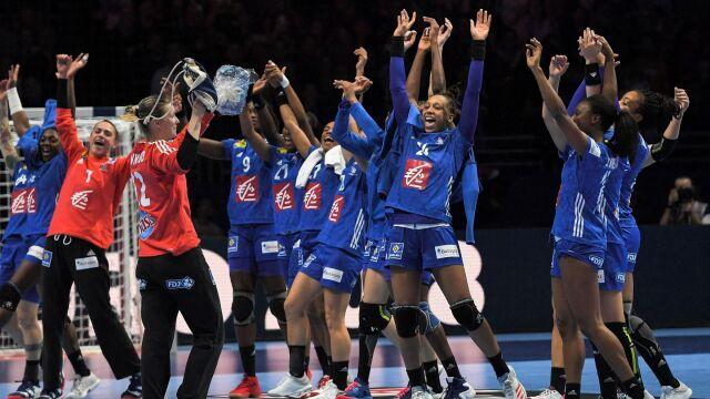 Francuzki po raz pierwszy mistrzyniami Europy