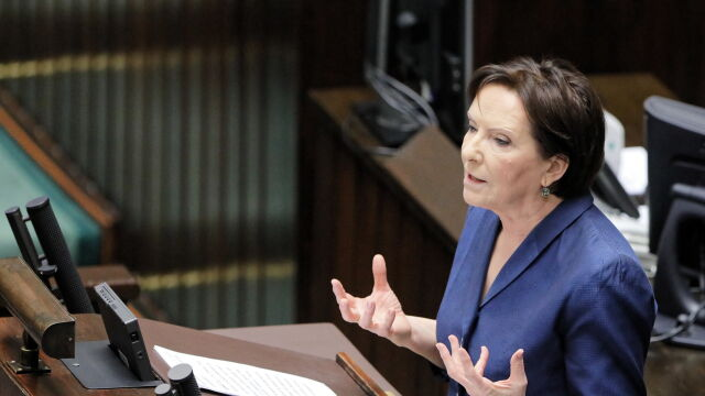 Kopacz w Sejmie: macie większość na tej sali, ale nie macie jej wśród Polaków