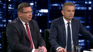 Michał Wójcik i Bartosz Arłukowicz w