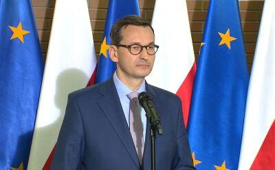 Premier Morawiecki mówił w piątek o rozmowach na temat edukacji w Polsce