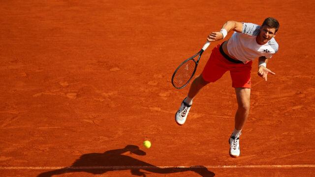 Hurkacz oblał sprawdzian generalny przed Rolandem Garrosem