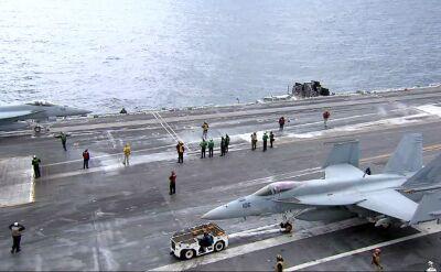 Amerykańska armia wysłała na Biski Wschód bombowce i okręty wojenne