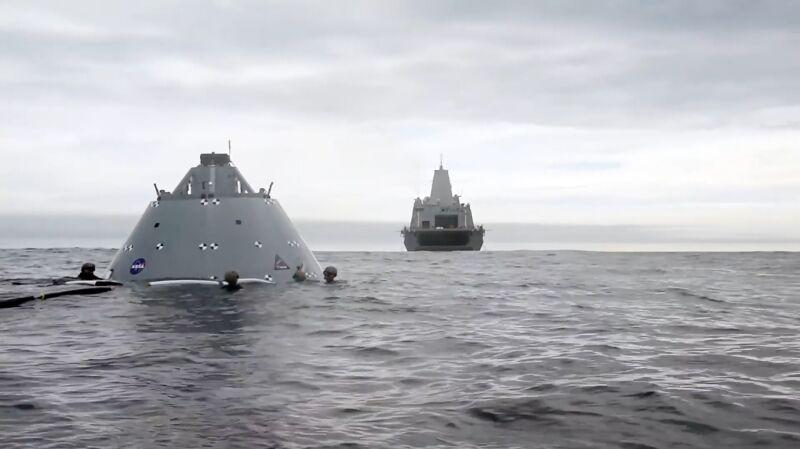 Kosmiczny trening na wodzie