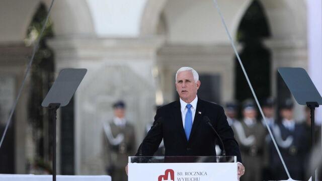 Wiceprezydent USA: Polska jest ojczyzną bohaterów. Nikt nie walczył z większąodwagą