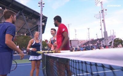 Rosolska i Mektić odpadli w pierwszej rundzie miksta w US Open