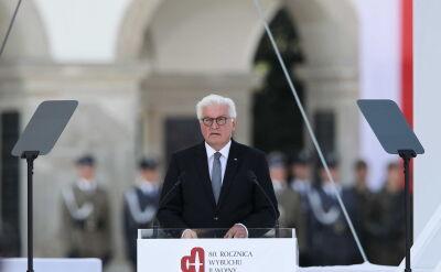 Prezydent Niemiec: nie ma drugiego takiego miejsca w Europie, w którym z takim trudem przychodziłoby mu zabrać głos