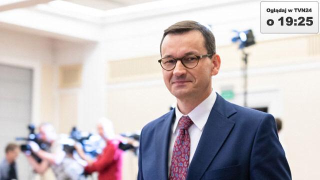 Premier Mateusz Morawiecki będzie dziś gościem