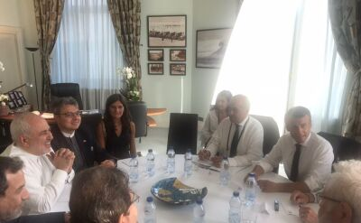 Szef irańskiej dyplomacji pojawił się na szczycie G7