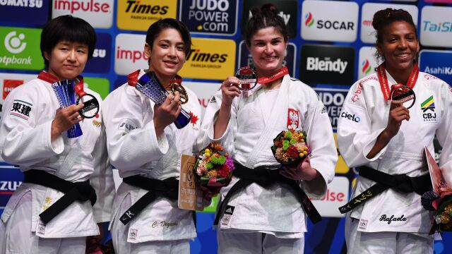 Polka z brązem mistrzostw świata w judo. Sekundy dzieliły ją od sprawienia sensacji