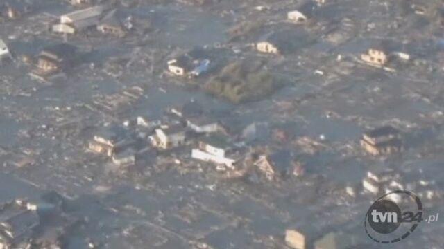 Zniszczone miasto Miyagi po trzęsieniu ziemi (Reuters)