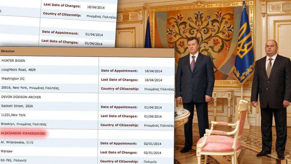 Cypryjskie akta, ukraiński gaz.  Kwaśniewski w spółce człowieka Janukowycza