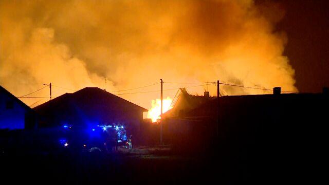 Wybuch gazociągu usłyszano w sąsiednich miejscowościach
