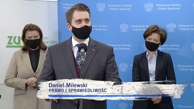 Daniel Milewski o pomocy dla przedsiębiorców