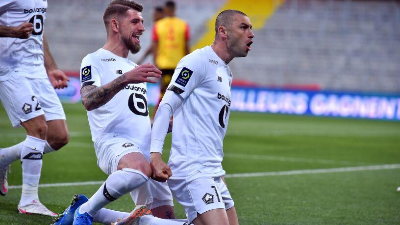 Kosmiczny gol, koledzy łapali się za głowy. Lille blisko mistrzostwa Francji
