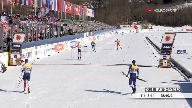 Norwegowie mistrzami świata w sprincie drużynowym, Polacy na 10. miejscu