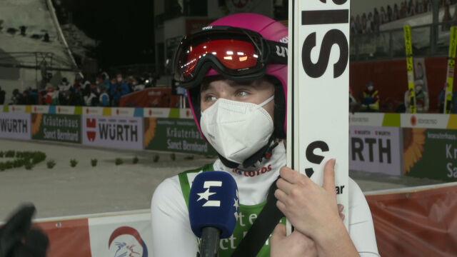 Twardosz po konkursie drużynowym kobiet w mistrzostwach świata