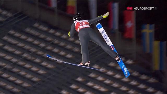 Skok Karpiel z kwalifikacji na skoczni normalnej w mistrzostwach świata