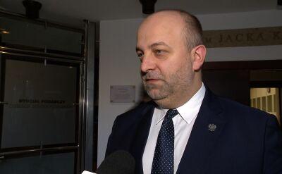 Łukasz Piebiak o odpowiedzi przekazanej Komisji Europejskiej