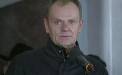Tusk: byłeś zawsze tam, gdzie trzeba było pokazać dobrą i odważną twarz
