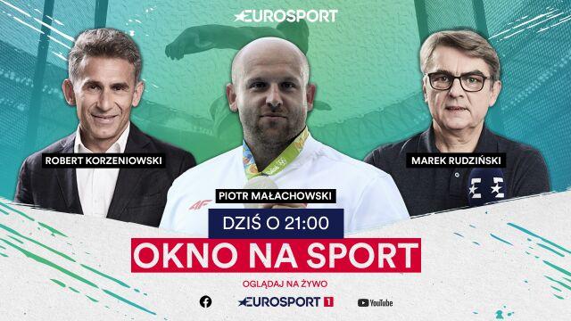 """Dyskobol Piotr Małachowski był gościem """"Okna na sport"""""""