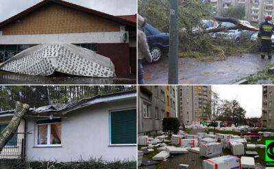Cyklon Grzegorz sieje zniszczenie. Relacje Reporterów 24