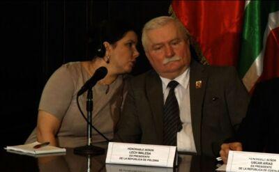 Lech Wałęsa w ogniu pytań