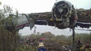 Zniknął z radarów, rozbił się obok lotniska. Katastrofa pod Lwowem