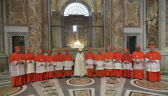 Papież powołał 13 nowych kardynałów