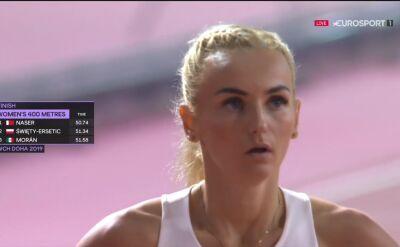Święty-Ersetic awansowała do półfinału biegu na 400 m