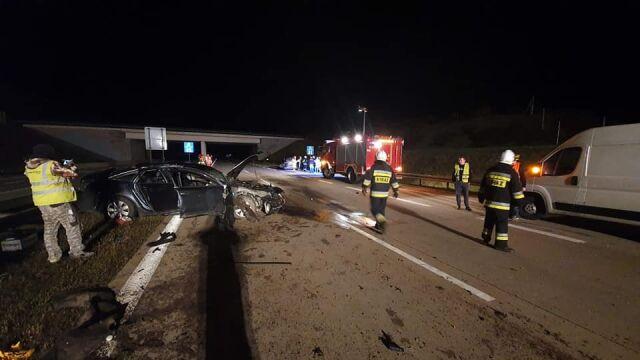 Laweta zabrała auto po wypadku. Trzy kilometry dalej wjechała w nią ciężarówka