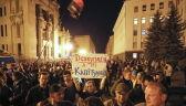 Protesty na Ukrainie w związku z decyzją prezydenta Wołodymyra Zełenskiego
