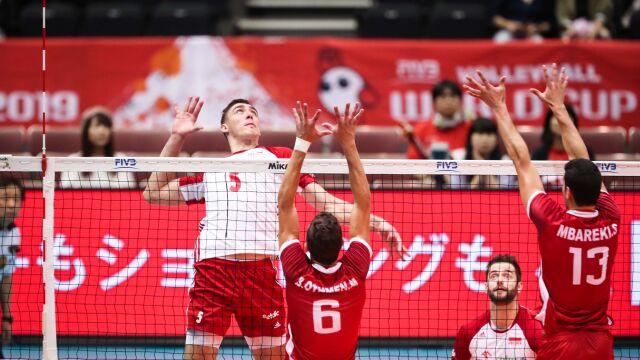Polacy dali lekcję siatkówki. Pierwsze zwycięstwo w Pucharze Świata