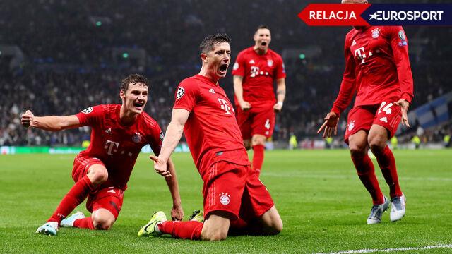 Tottenham - Bayern 2:7 w Lidze Mistrzów [RELACJA]