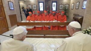 Papież powołał nowych kardynałów. Mówił o