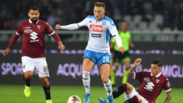 Milik bez zaufania trenera. Napoli bez goli w konfrontacji z Torino