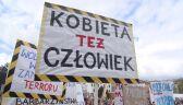 """""""Chcemy zdrowia, nie zdrowasiek"""". Protest przeciwników zakazu aborcji"""